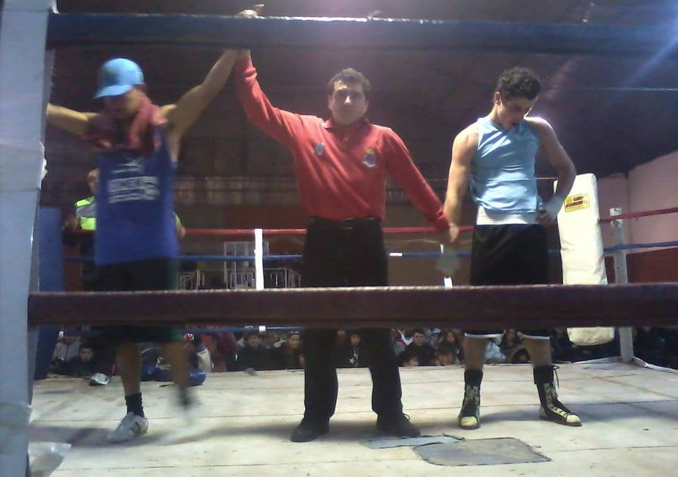 Mendoza:  Festival de Boxeo en Club Social y Deportivo Guaymallén
