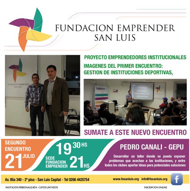San Luis: SEGUNDO ENCUENTRO DE GESTIÓN DE INSTITUCIONES DEPORTIVAS
