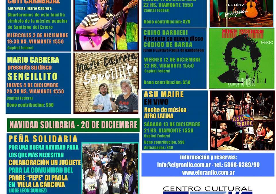 Ciudad de Buenos Aires: Actividades Diciembre, Despedimos el año
