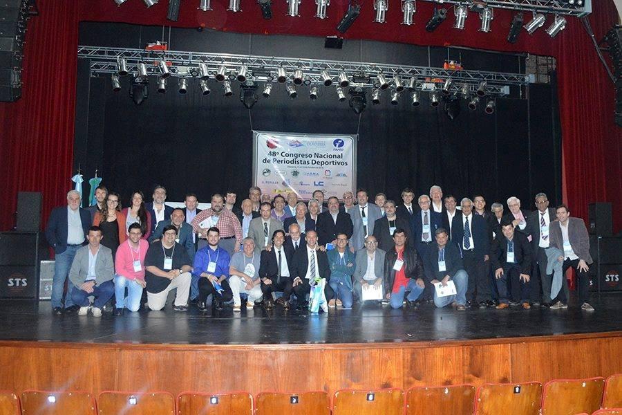 48° Congreso Nacional de Periodistas Deportivos (FAPED):  DECLARACIÓN DE OLAVARRÍA – Por un nuevo Ente para el Deporte