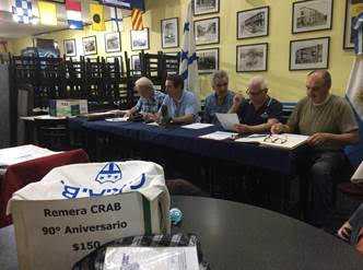 C.A.B.A: Nueva Comisión Directiva CRAB Año 2016-2017