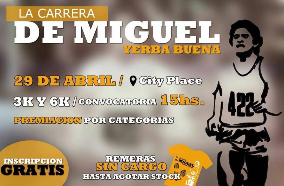 """Tucumán: """"LA CARRERA DE MIGUEL»"""