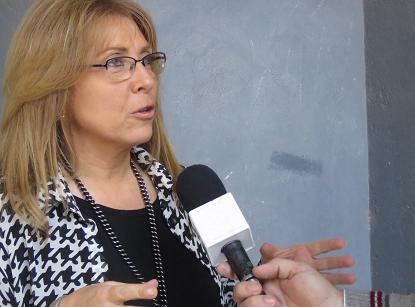 Santa Fe:  GIACCONE POR EL CUPO FEMENINO EN ENTIDADES DEPORTIVAS
