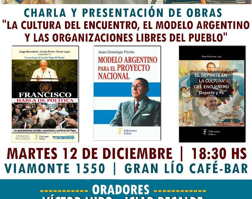 CHARLA Y PRESENTACIÓN DE OBRAS: Iciar Recalde y Víctor Lupo
