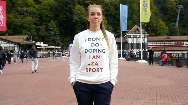 Posó con la frase «Yo no me dopo» y luego dio positivo en los Juegos Olímpicos de Invierno