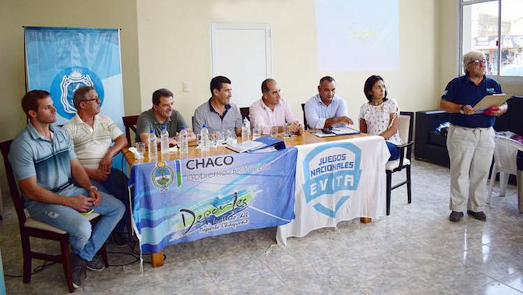 Chaco: CORZUELA Y CHARATA – Argüello lanzó oficialmente la edición 2018 de los Juegos Nacionales Evita