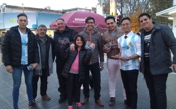 El Partido Vecinal Somos San Martín lanzó el Mes del Mundial Rusia 2018