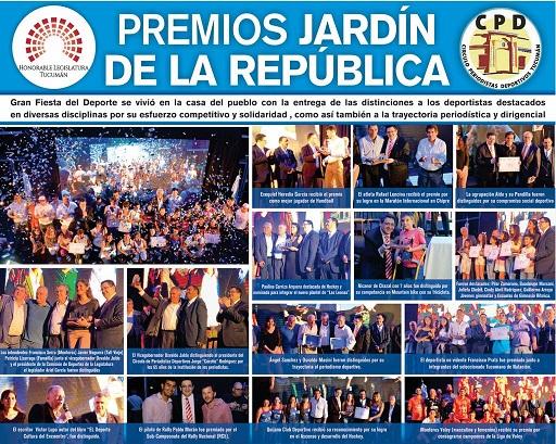 TUCUMÁN: La Legislatura entregó los Premios Jardín de la República