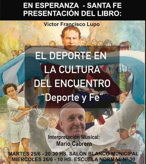 Santa Fe: ESPERANZA – PRESENTACIÓN DE UN LIBRO