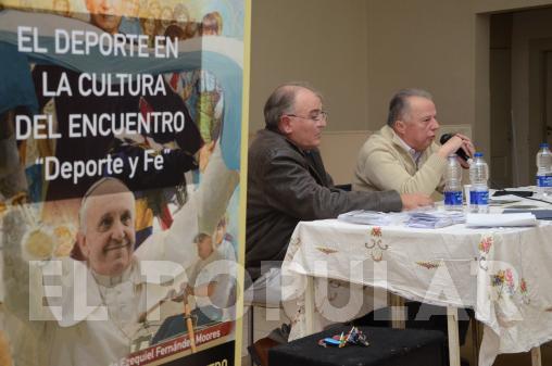 OLAVARRIA: El deporte, en la palabra de Víctor Lupo