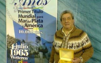 """04/07/1965 – """"Lealtad a su amigo de la niñez"""" –  Una epopeya: Hugo Reynaldo Ibarguren, primer argentino campeón mundial de patín"""
