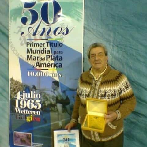"""04/07/1965 – """"Lealtad a su amigo de la niñez"""" –  A 55 años de una epopeya: Hugo Reynaldo Ibarguren, primer argentino campeón mundial de patín"""