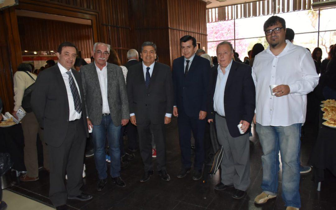 """SANTIAGO DEL ESTERO: Doble jornada con la """"historia del deporte"""" en el paraninfo de la UNSE"""