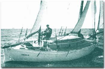 """26 de setiembre de 1900 — Vito Dumas, """"El navegante solitario""""- El espíritu aventurero argentino da la vuelta al mundo"""
