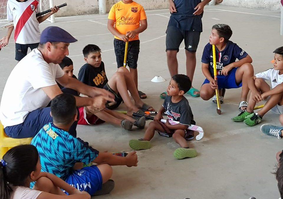 Clínica con Cachito Vigil en el Club San Juan Bosco