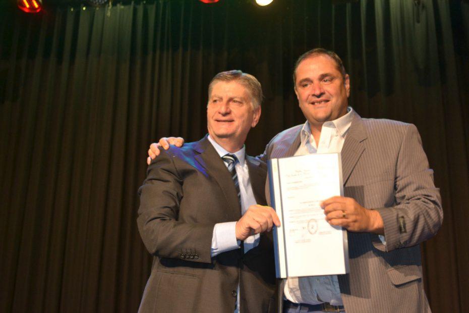 """La Pampa – Almudévar: """"Vamos a seguir acentuando el trabajo de masificación deportiva"""""""
