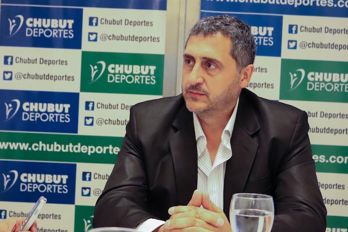 GUSTAVO HERNÁNDEZ ASUMIÓ EN CHUBUT DEPORTES