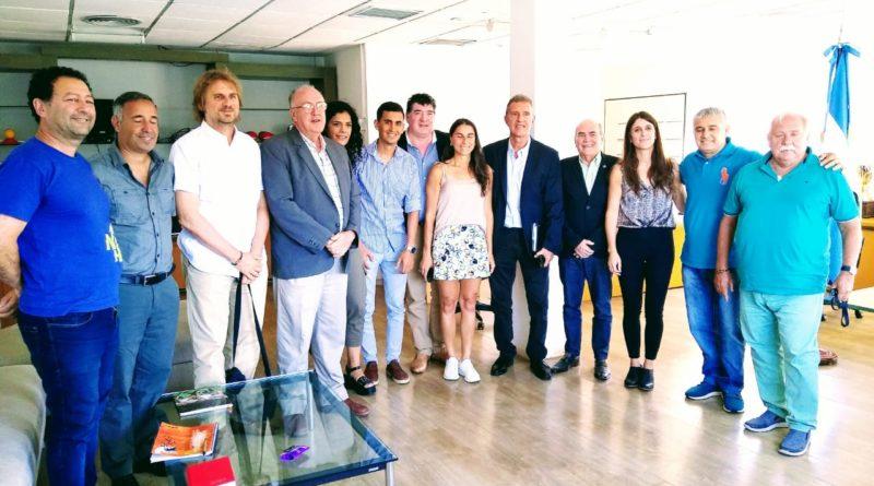 Arrondo con Dirigentes provinciales – Importante reunión para el deporte federado nacional