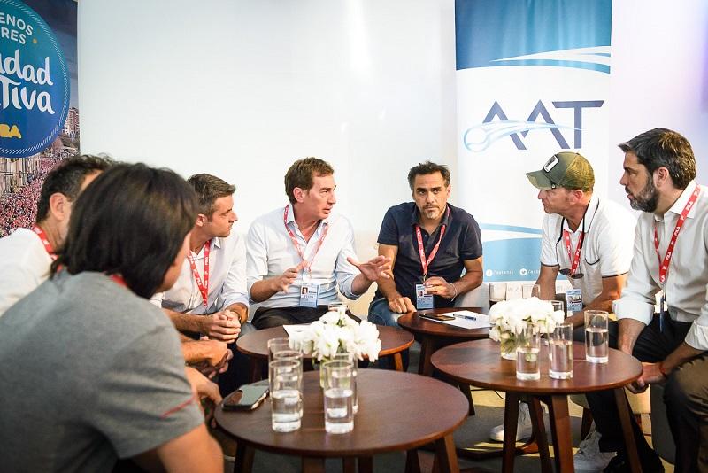 Santilli sumó a Calleri, Jaite y a la Asociación de Tenis al programa deportivo porteño