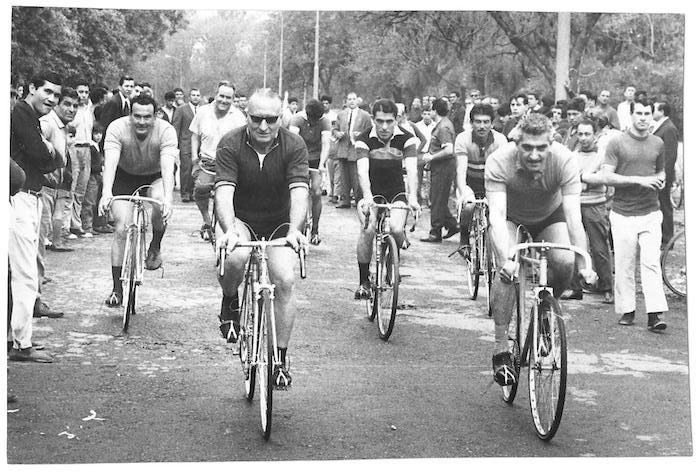 VICTOR YAPUR, El gran ciclista taficeño