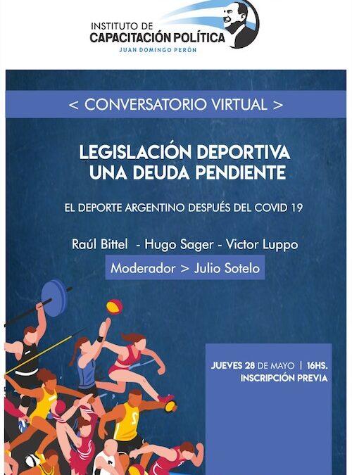 Chaco: Video conferencia Instituto de Capacitación Política Juan Domingo Perón