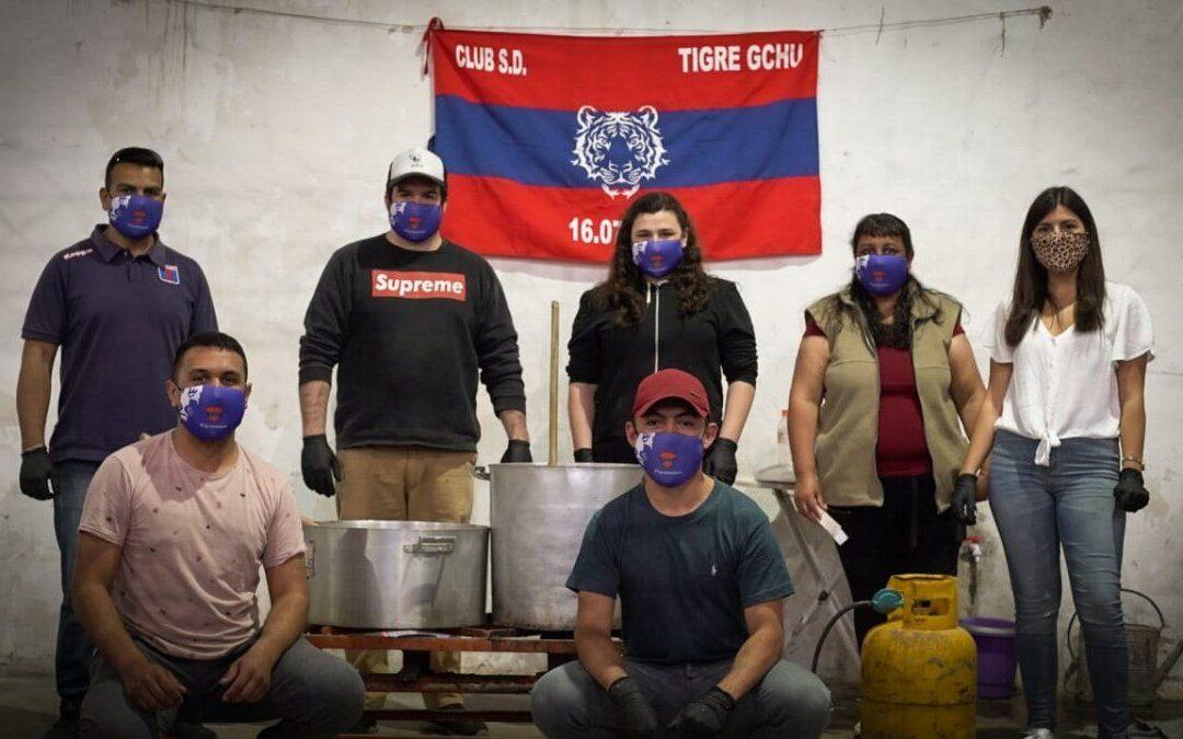 Gualeguaychú (Etre Ríos): Al otro lado de la calle: Compromiso y solidaridad marcan a fuego el presente del Club Tigre