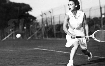 Mary Terán de Weiss, la tenista que abrió el camino