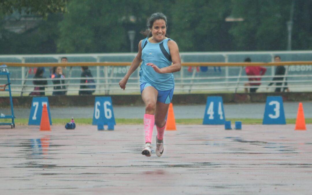 El Atletismo santafesino volvió a competir en las pistas a pesar de la lluvia