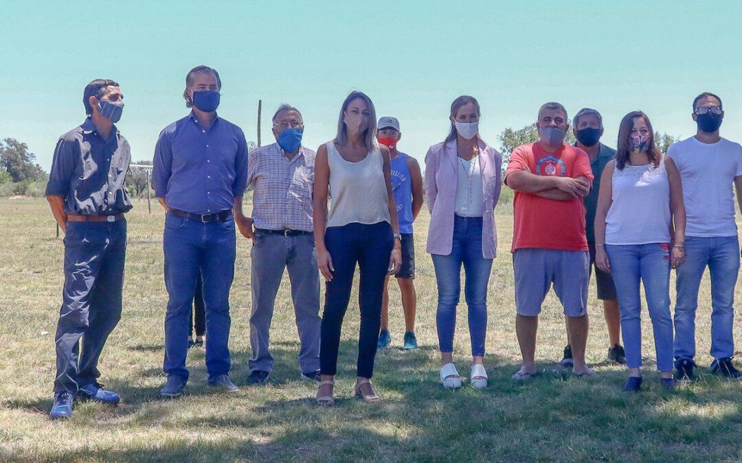 Piaggio recibió a la diputada nacional Mayda Cresto y visitaron clubes en Gualeguaychú