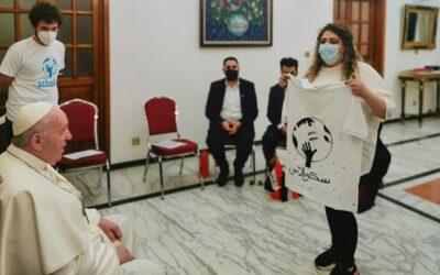 El Papa en Irak: Scholas inaugura en Irak una Escuela de Deportes por la Paz