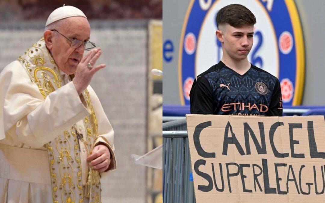 SUPERLIGA EUROPEA – Hasta en El Vaticano rechazan la Superliga de Europa: «El dinero termina arruinando todo»
