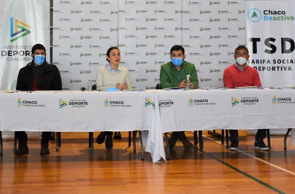 Chaco: TARIFA SOCIAL DEPORTIVA – SE FIRMARON CONVENIOS CON 22 CLUBES PROVINCIALES GENERANDO MÁS INCLUSIÓN