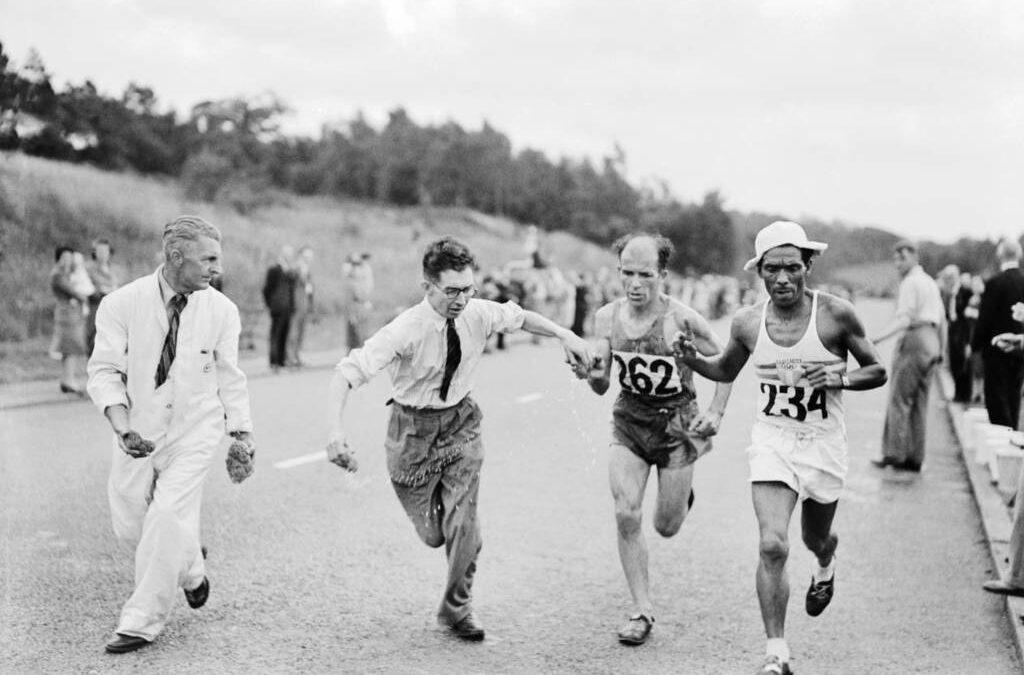 7 de agosto – Guiñez: el mendocino que le hizo ganar el oro a un compañero en Londres 1948
